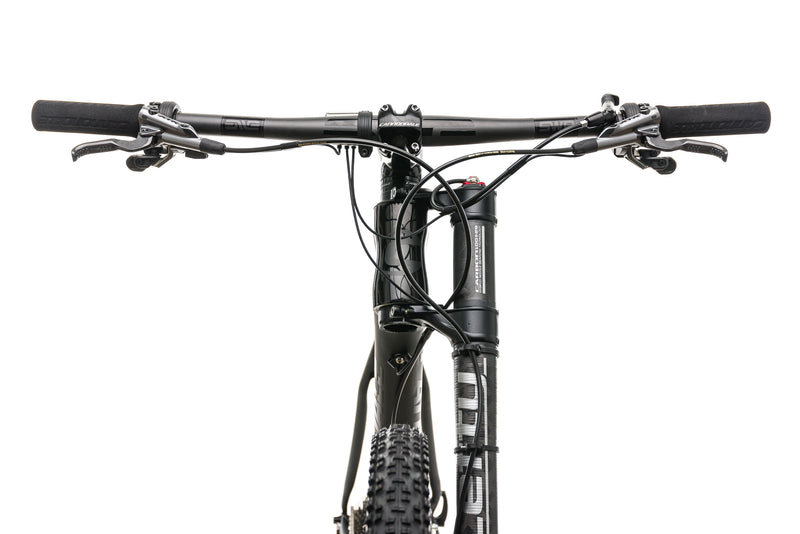 Cannondale F-Si Carbon Black Inc. Mountain Bike - 2017, Large cockpit