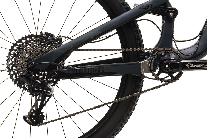 YT Jeffsy CF Mountain Bike - 2018, Large drivetrain