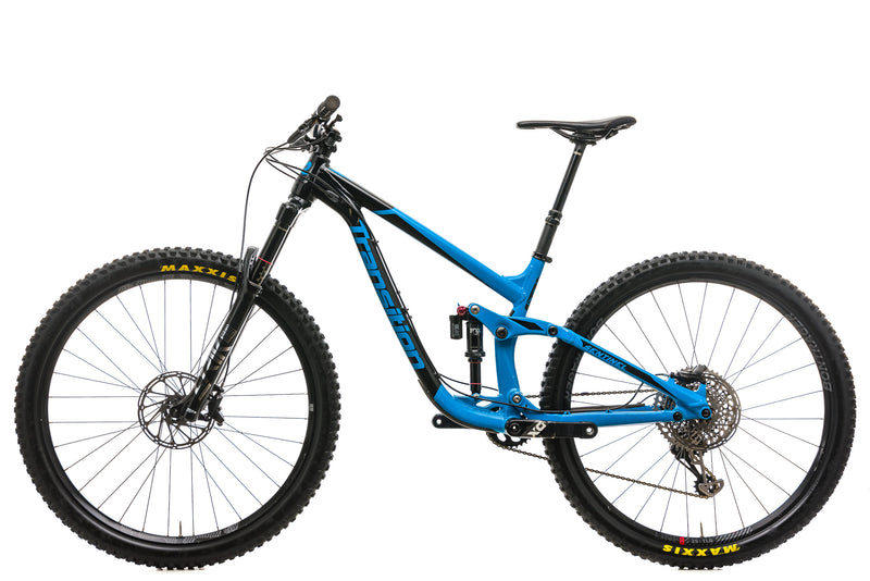 Transition Sentinel Mountain Bike - 2017, Medium non-drive side