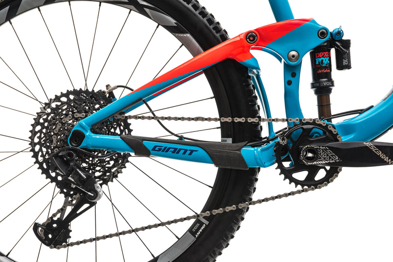 Giant Trance Advanced 1 Mountain Bike - 2018, X-Large drivetrain