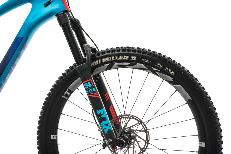 Giant Trance Advanced 1 Mountain Bike - 2018, X-Large cockpit