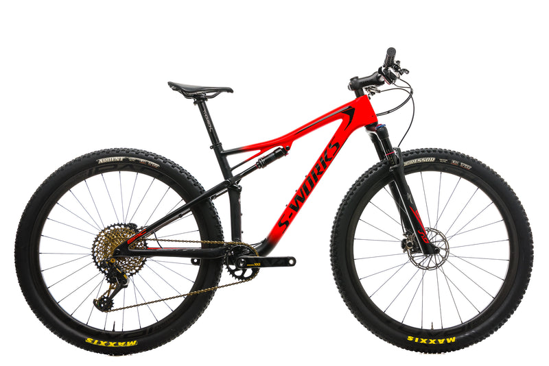 Specialized S-Works Epic Mountain Bike - 2018, Medium drive side