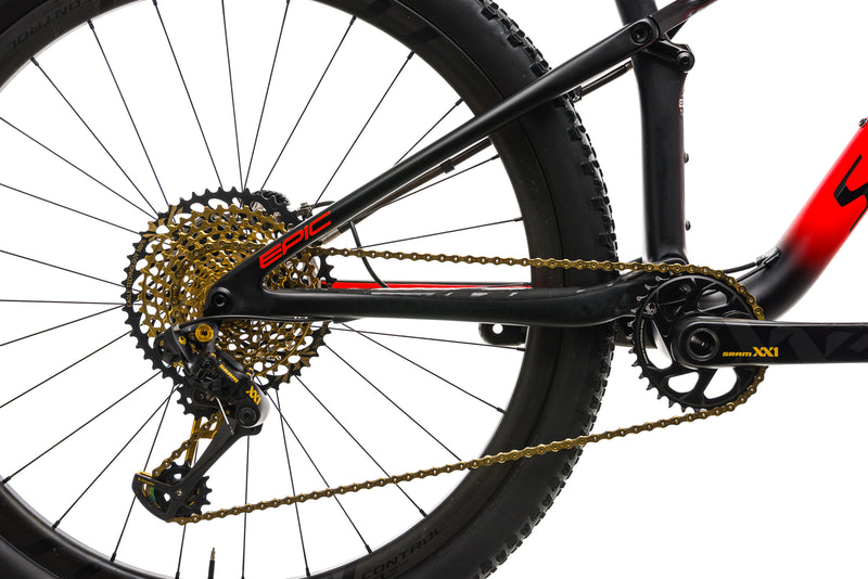 Specialized S-Works Epic Mountain Bike - 2018, Medium drivetrain