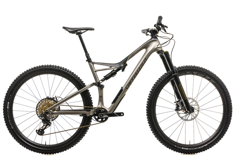Specialized Stumpjumper Pro Carbon 29 Mountain Bike - 2018, Large drive side