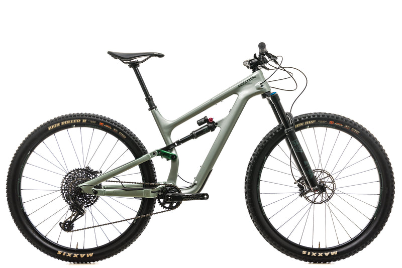 Cannondale Habit Carbon 2 Mountain Bike - 2019, Medium drive side