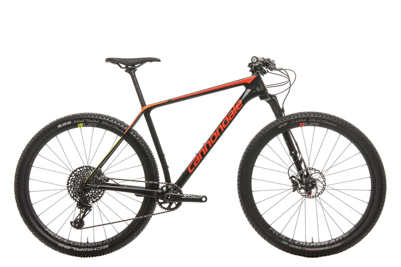 Cannondale F-Si Carbon 2 Mountain Bike - 2019, Large drive side