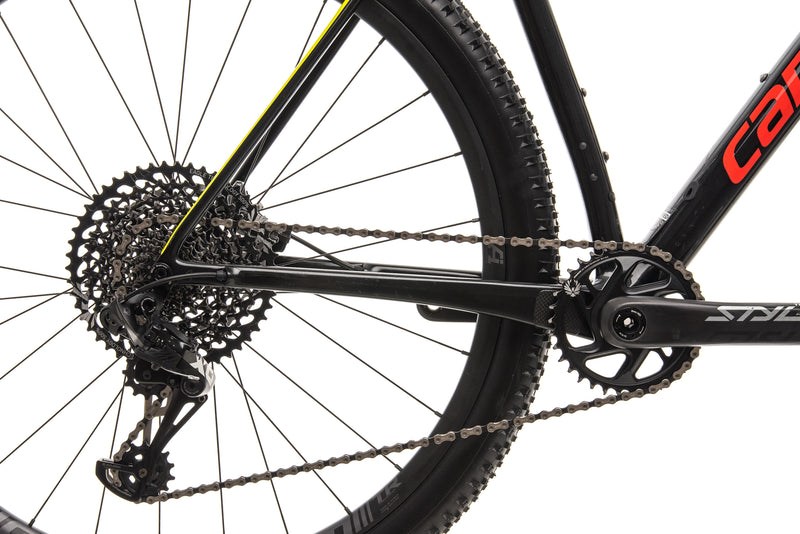 Cannondale F-Si Carbon 2 Mountain Bike - 2019, Large drivetrain