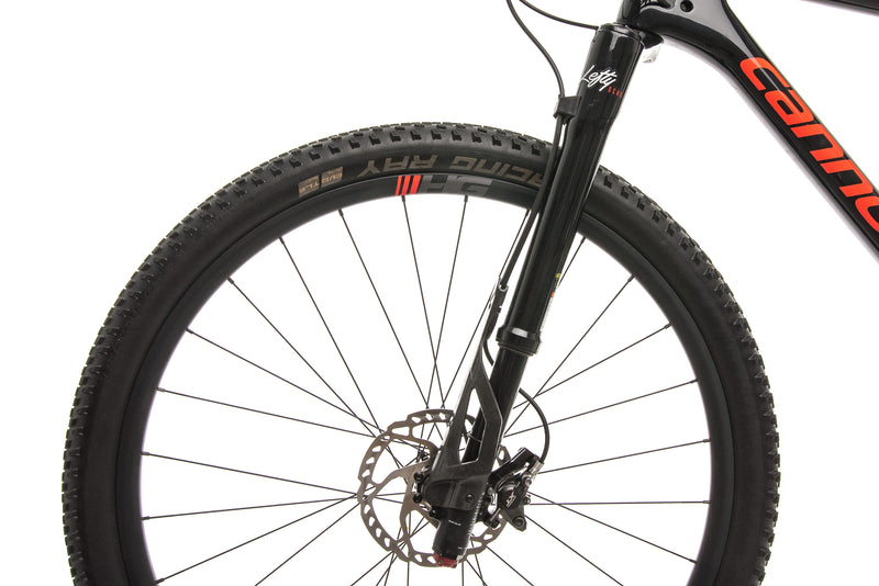 Cannondale F-Si Carbon 2 Mountain Bike - 2019, Large front wheel
