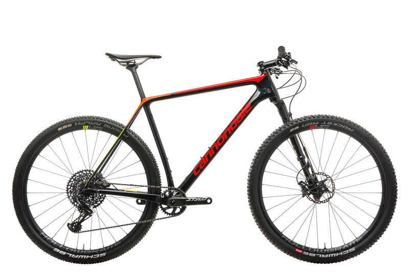 Cannondale F-Si Carbon 2 Mountain Bike - 2019, X-Large drive side