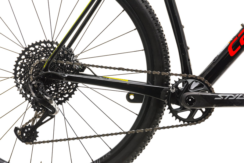 Cannondale F-Si Carbon 2 Mountain Bike - 2019, X-Large drivetrain