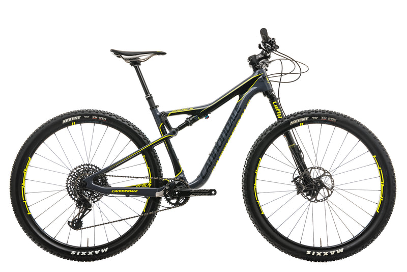 Cannondale Scalpel-Si Carbon 1 Mountain Bike - 2018, Medium drive side