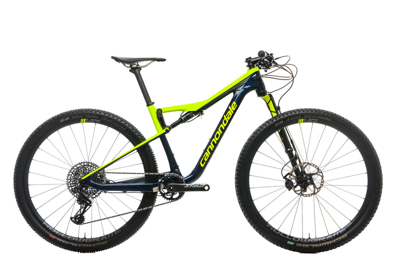 Cannondale Scalpel-Si Carbon 2 Mountain Bike - 2019, Medium drive side