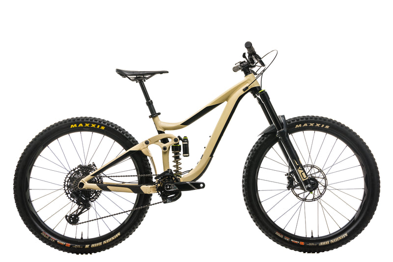 Giant Reign SX 1 Mountain Bike - 2019, Small drive side