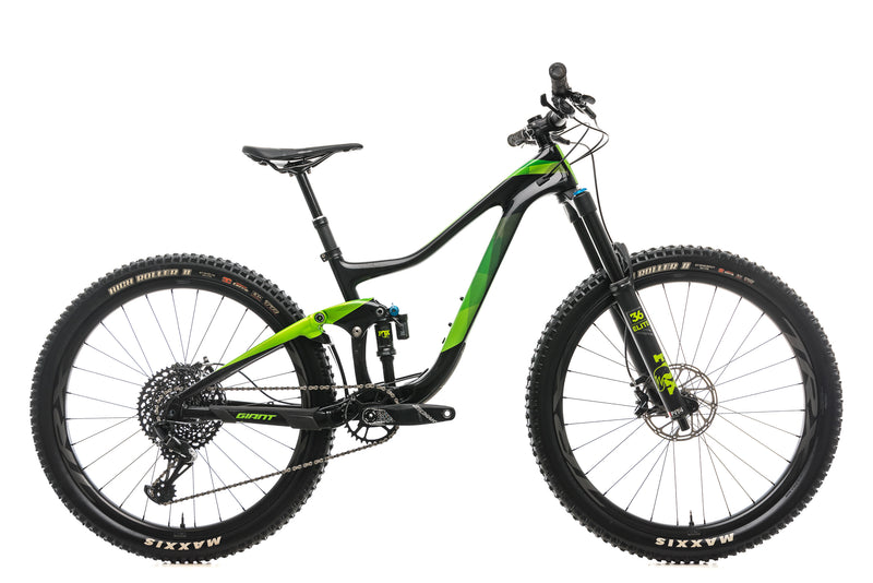 Giant Trance Advanced 1 Mountain Bike - 2019, Small drive side