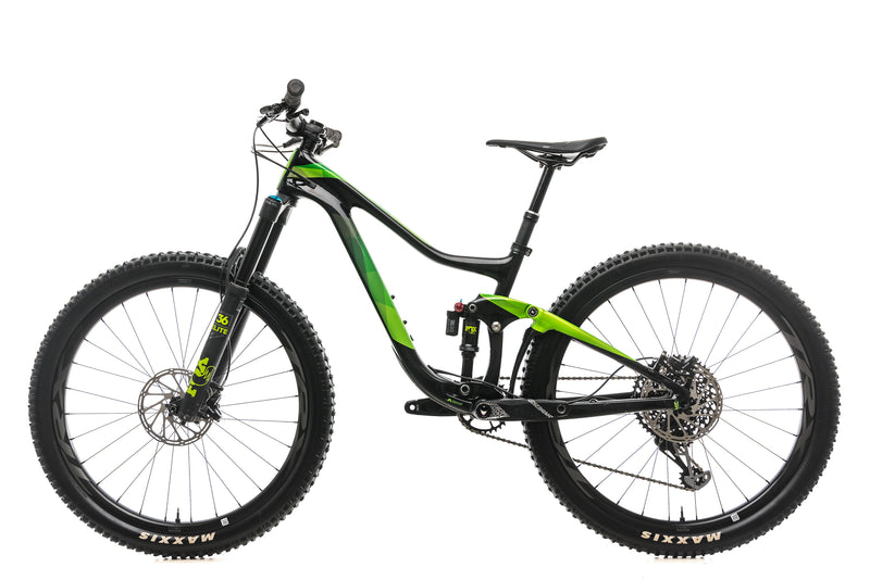 Giant Trance Advanced 1 Mountain Bike - 2019, Small non-drive side
