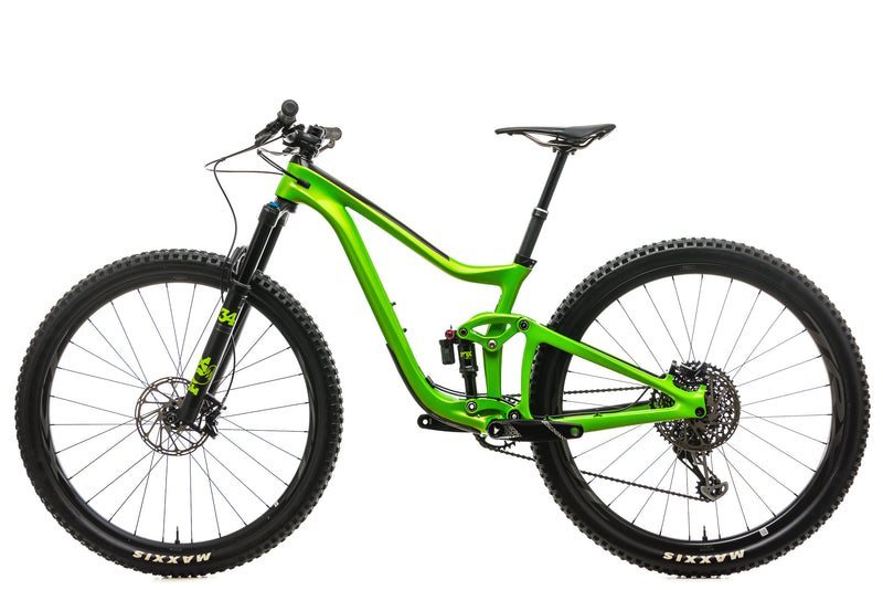 Giant Trance Advanced Pro 29 1 Mountain Bike - 2019, Small non-drive side