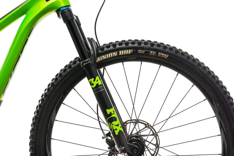 Giant Trance Advanced Pro 29 1 Mountain Bike - 2019, Small cockpit