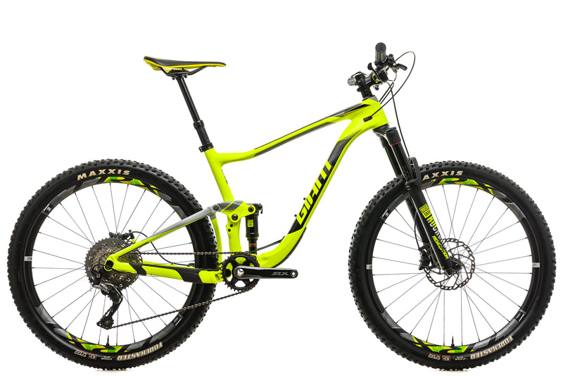 Giant Anthem Advanced 2 Mountain Bike - 2018,  Medium drive side