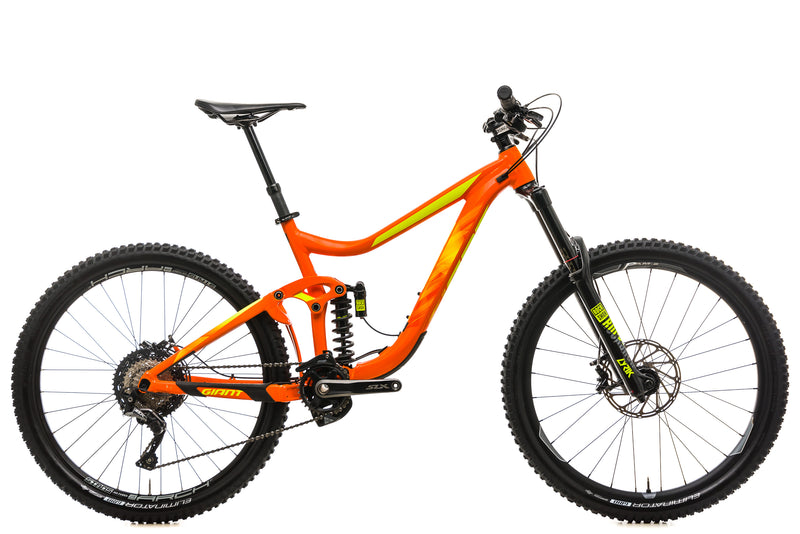Giant Reign SX Mountain Bike - 2018, Medium drive side