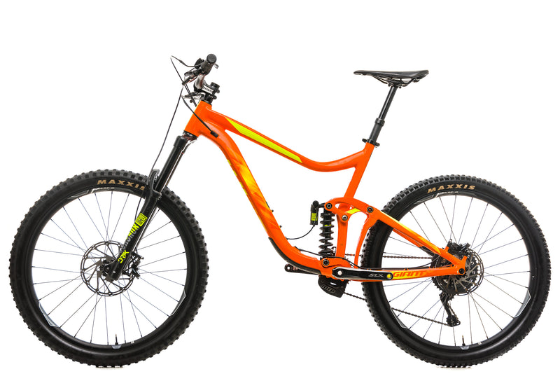 Giant Reign SX Mountain Bike - 2018. X-Large non-drive side
