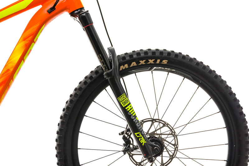 Giant Reign SX Mountain Bike - 2018. X-Large cockpit
