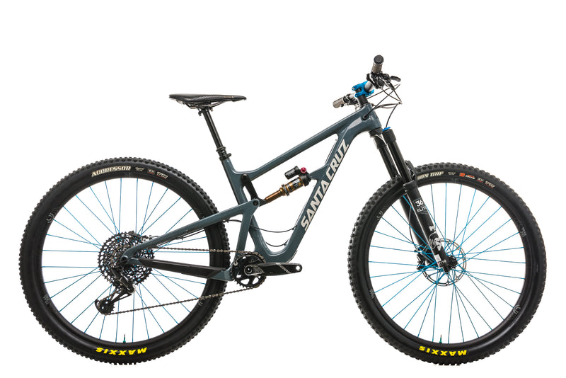 Santa Cruz Hightower LT Mountain Bike - 2018, Medium drive side
