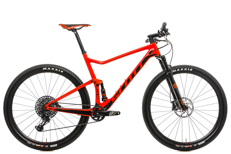 Scott Spark RC 900 Team Mountain Bike - 2019, X-Large drive side