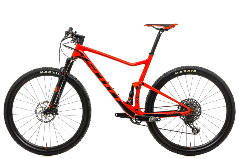 Scott Spark RC 900 Team Mountain Bike - 2019, X-Large non-drive side