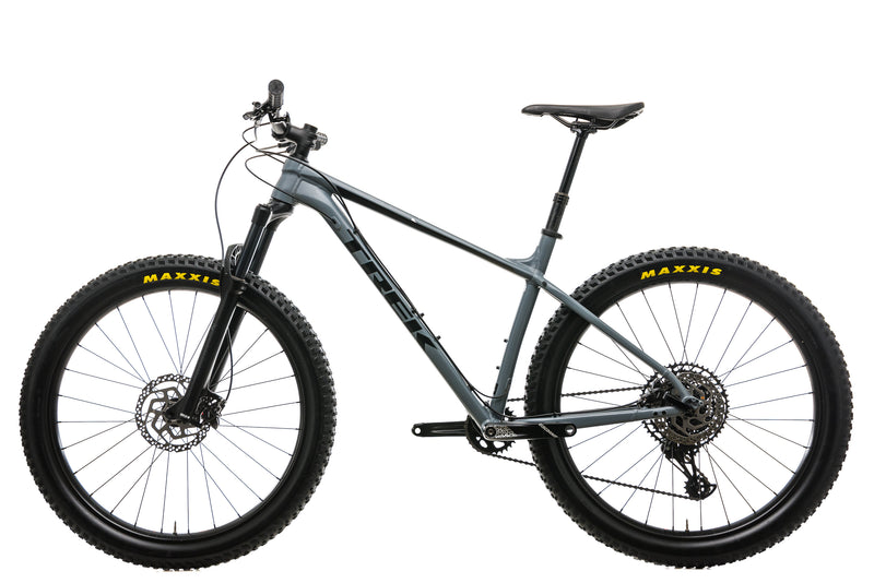 "Trek Roscoe 8 Mountain Bike - 2019, 19.5"" non-drive side"