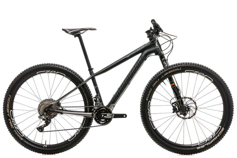 Cannondale F-Si Carbon Womens 1 Mountain Bike - 2016, X-Small drive side