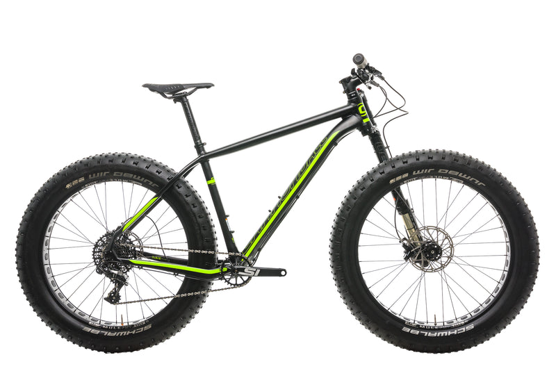 Cannondale Fat CAAD 1 Mountain Bike - 2018, Large drive side