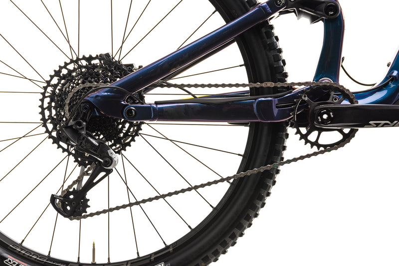 Cannondale Habit Carbon SE Mountain Bike - 2020, Medium drivetrain