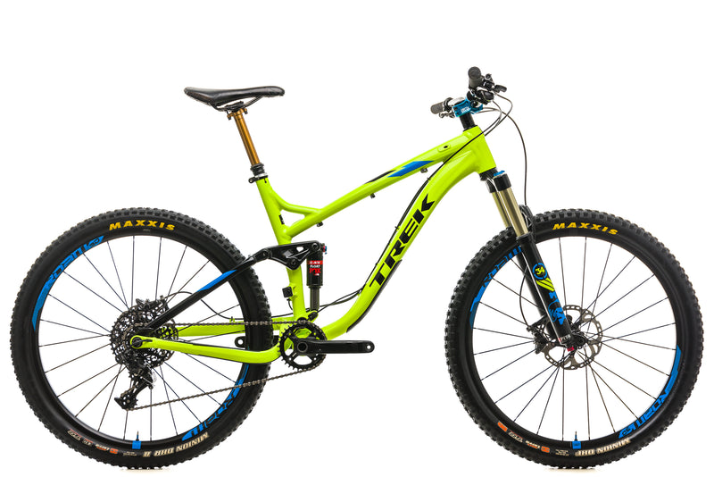 "Trek Fuel EX 9 27.5"" Mountain Bike - 2016, 18.5"" drive side"