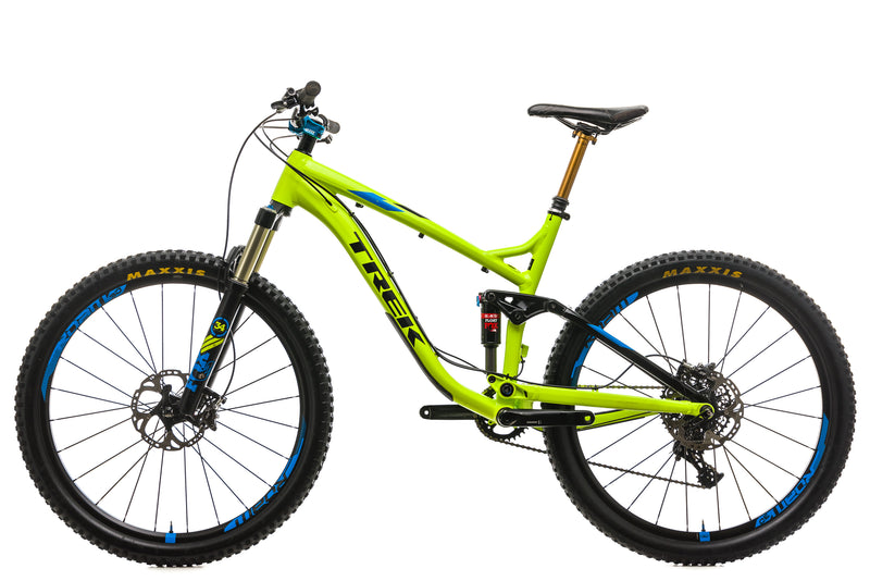 "Trek Fuel EX 9 27.5"" Mountain Bike - 2016, 18.5"" non-drive side"