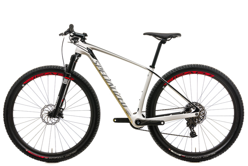Specialized Stumpjumper Expert Carbon World Cup Mountain Bike - 2015, Medium non-drive side
