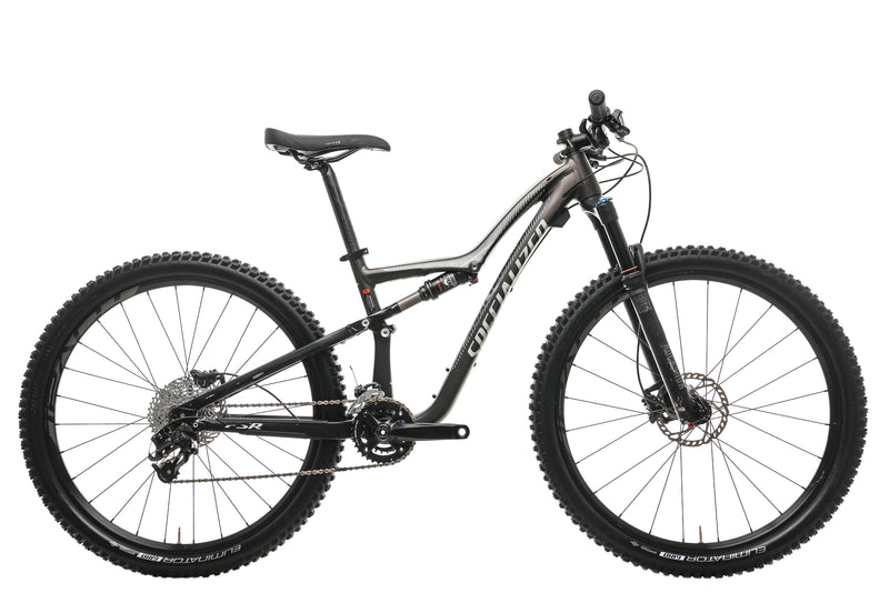 Specialized Rumor FSR Comp 650B Womens Mountain Bike - 2016, Small drive side