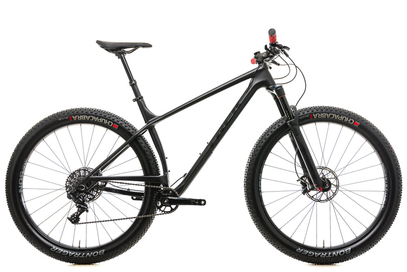 "Trek Stache 9.6 Mountain Bike - 2017, 21.5"" drive side"