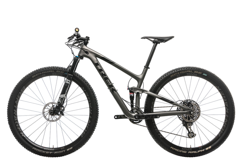 "Trek Top Fuel 9.8 SL Mountain Bike - 2019, 17.5"" non-drive side"