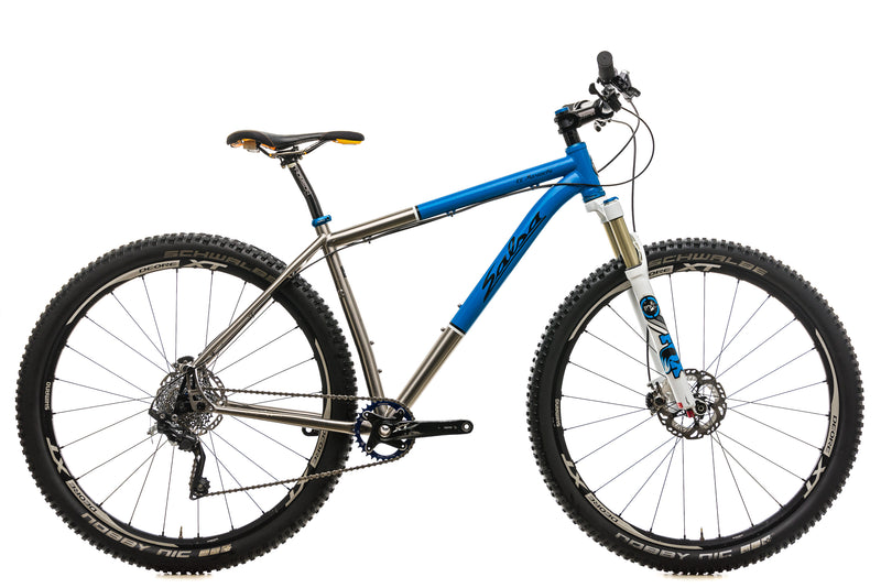 Salsa El Mariachi Ti Mountain Bike - 2014, Large drive side