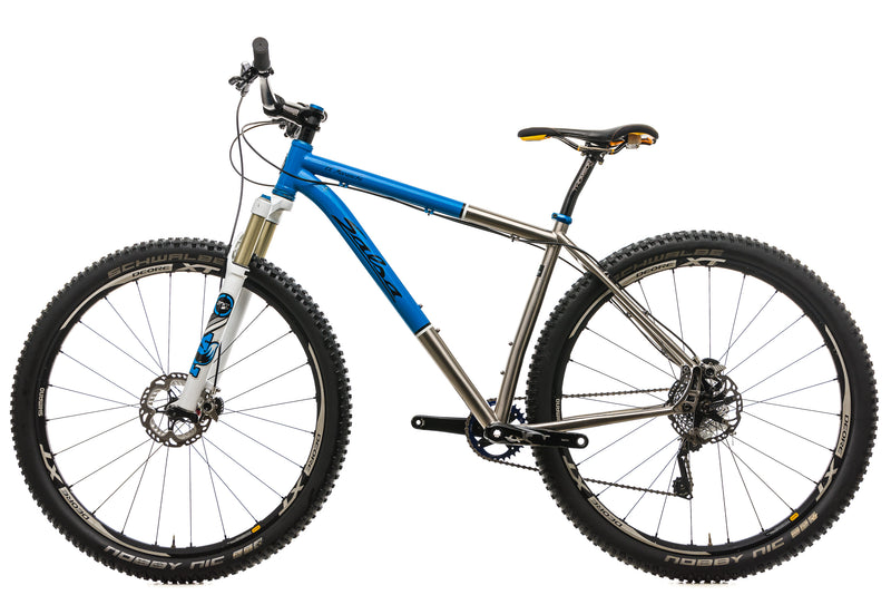 Salsa El Mariachi Ti Mountain Bike - 2014, Large non-drive side