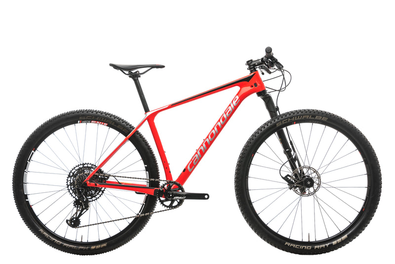 Cannondale F-Si Carbon 3 Mountain Bike - 2019, Medium drive side
