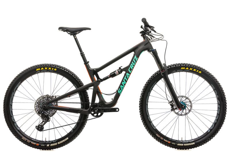 Santa Cruz Hightower CC Mountain Bike - 2017, Medium drive side