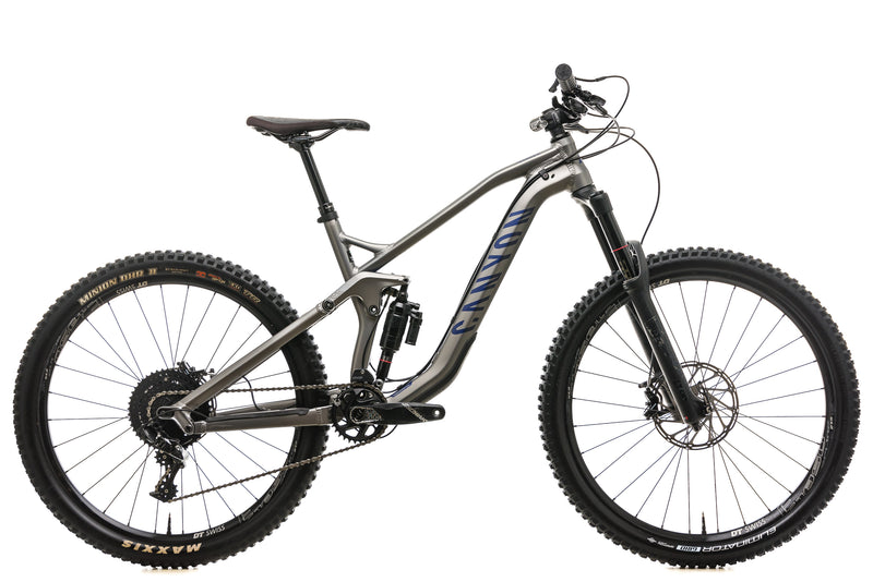 Canyon Strive AL 6.0 Mountain Bike - 2018, Small drive side