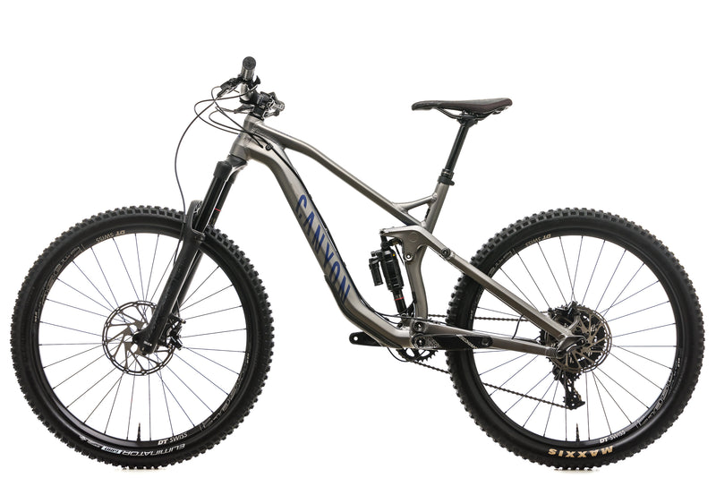 Canyon Strive AL 6.0 Mountain Bike - 2018, Small non-drive side