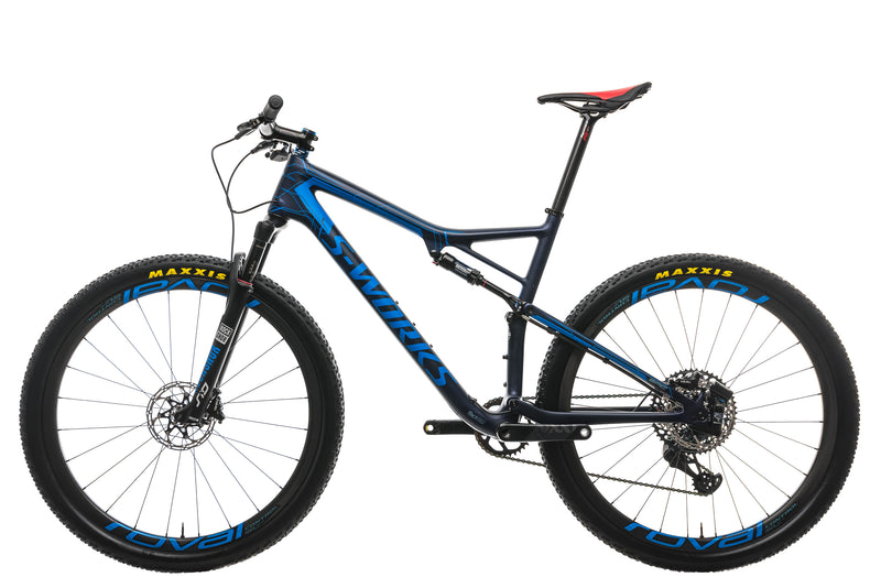Specialized S-Works Epic Troy Lee Designs LTD Mountain Bike - 2019, X-Large non-drive side
