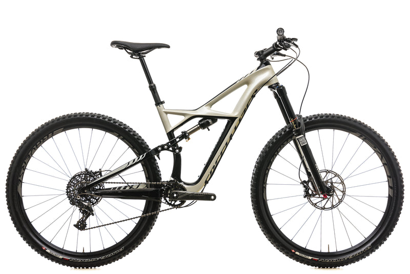 Specialized Enduro FSR Expert Carbon 29 Mountain Bike - 2015, Medium drive side