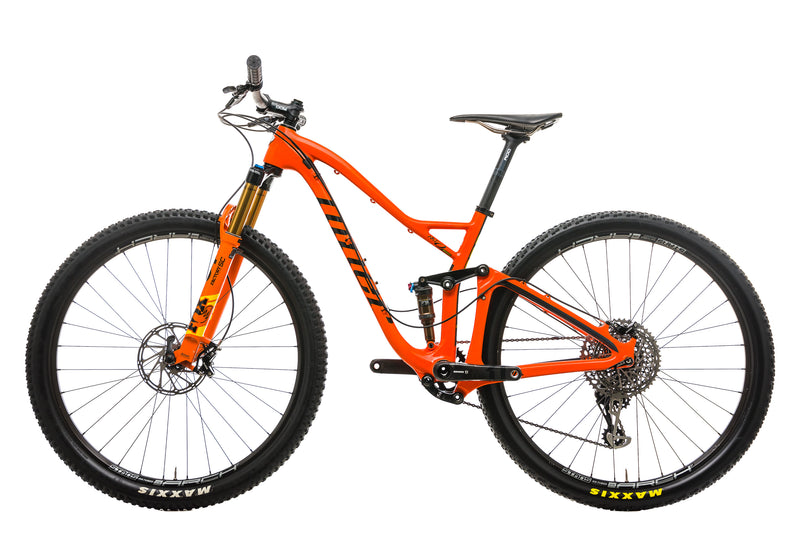 Niner RKT 9 RDO 4-Star Mountain Bike - 2019, Small non-drive side