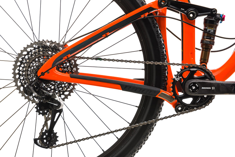 Niner RKT 9 RDO 4-Star Mountain Bike - 2019, Small drivetrain