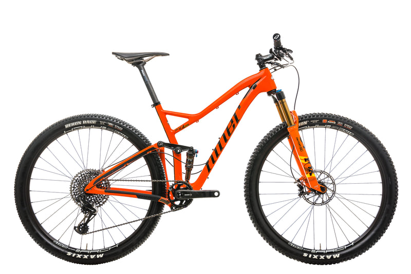Niner RKT 9 RDO 4-Star Mountain Bike - 2019, Medium drive side