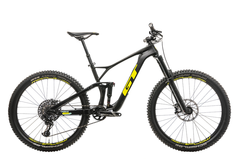 GT Force Carbon Expert Mountain Bike - 2019, Medium drive side